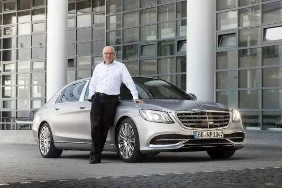 Dr. Storp 和 S 级中期改版 (© Daimler AG)