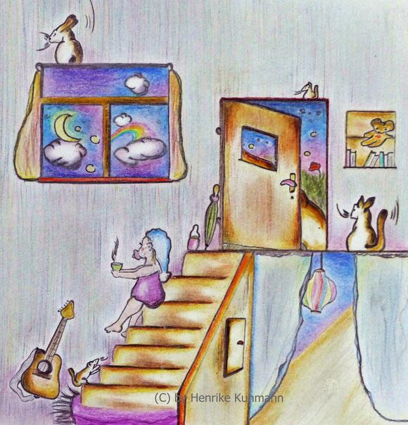 Zeichnung für Bilderbuch