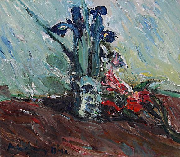 Iris   1988, Öl auf LW, 33 cm x 38 cm