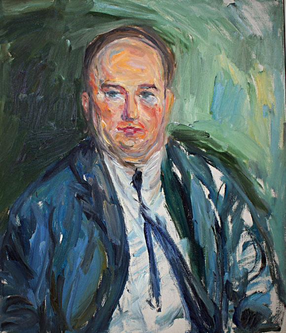 Harry Ristock   1968, Öl auf LW, 65 cm x 75 cm
