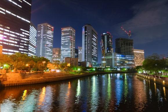 大阪ビジネスパーク 夜景 (源五郎さん)