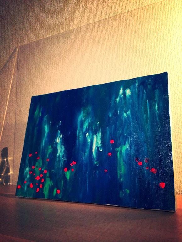 赤い花 2014.3
