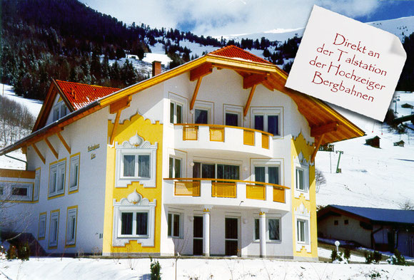 Ferienhaus Liss im Pitztal Direkt an der Talstation Hochzeiger Bergbahnen
