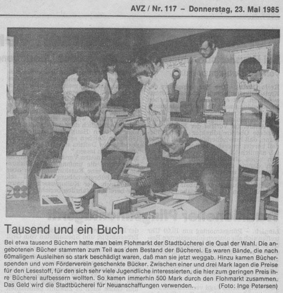 Jülicher Volkszeitung vom 23.05.1985