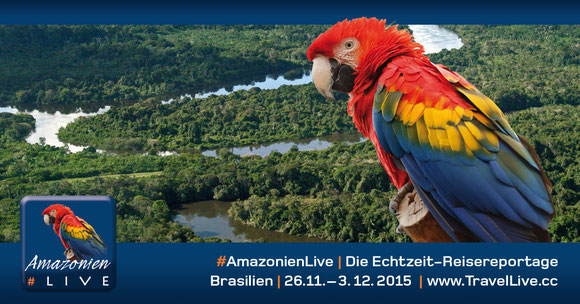 #AmazonienLive - Reisebericht aus Pará/Brasilien, 26.11. - 3.12.2015