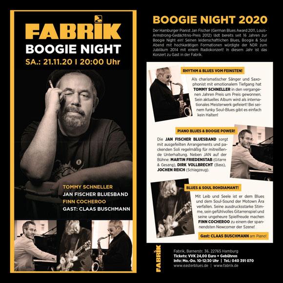 Boogie Night 11/2020