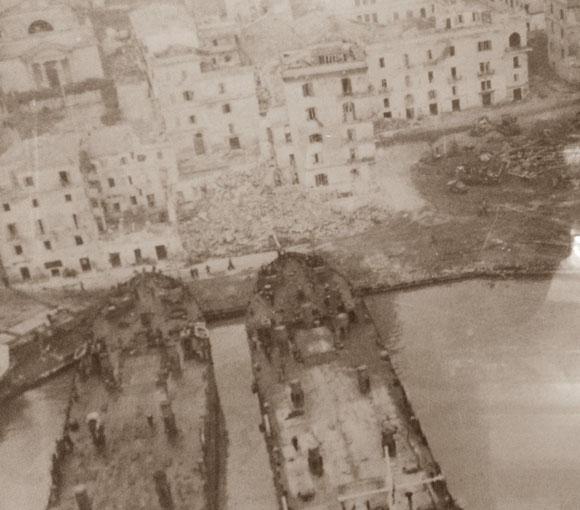 Anzio 22 Gennaio 1944 - Operazione Shingle.
