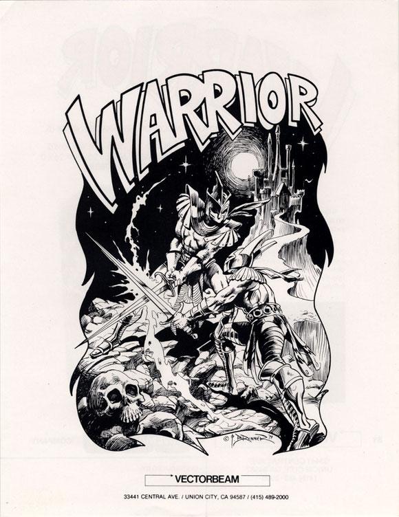 Warrior arcade 1979