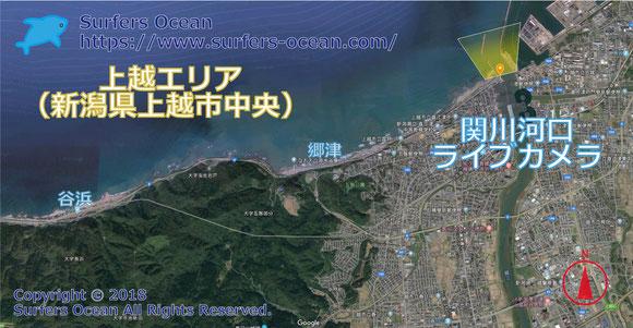 カメラ 海 ライブ 新潟