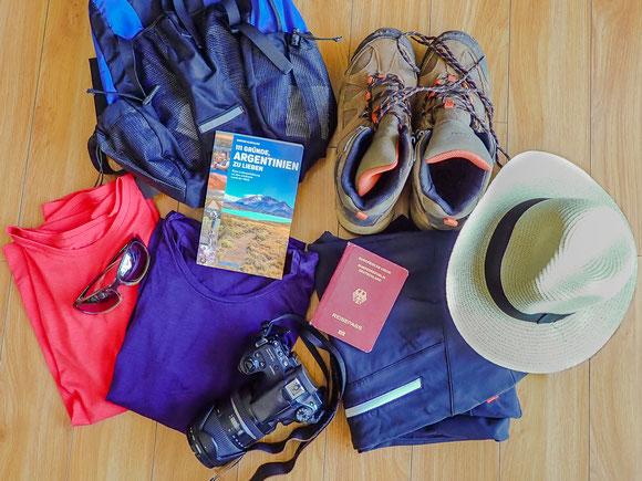 Packliste Argentinien