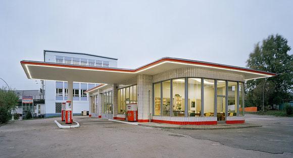 Tankstelle-Brandshof in Hamburg Rothenburgsort