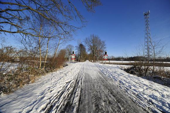 """Winter an der Bahn"" Foto © Manfred Borchers Stade-Hagen"