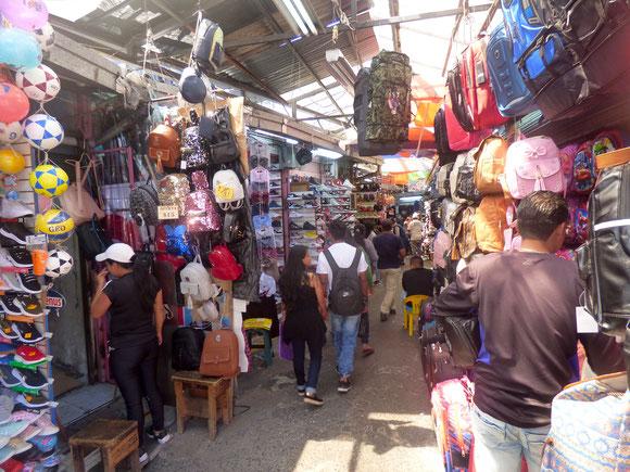 Ecuador - Markt in der Altstadt von Quito