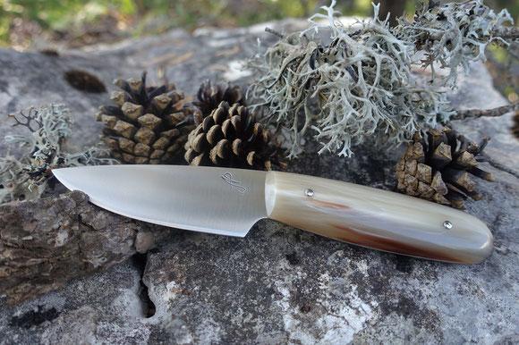 Couteau à Pomme - Corne de Zébu