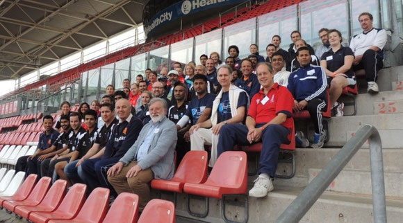 Participants at the ICC Europe Regional Coaching Conference in Utrecht (5-6.4.2014)