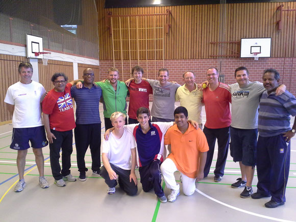 Successful Level 1 coaches with Richard Skyrme (far left)