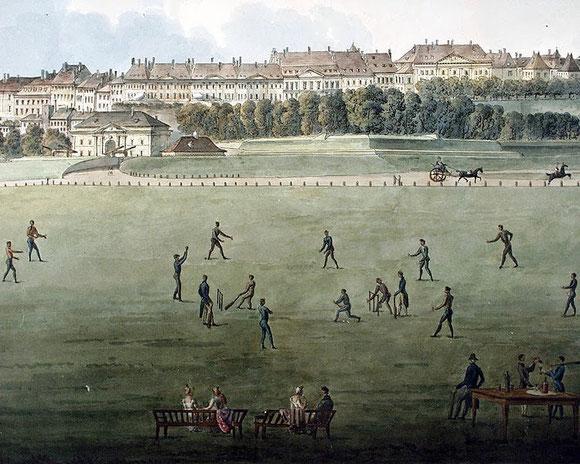 """""""Vue de la Ville de Genève et de Plein-Palais (Florence 1769-1845)"""" from 1817 by Giovanni Salucci"""