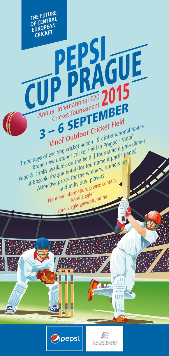 Pepsi Cup Prague poster