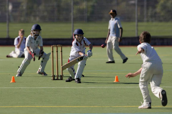 Basel Dragons Junior CC U11 v Gingins U11 at Rankhof, Basel on Saturday 19th October 2013