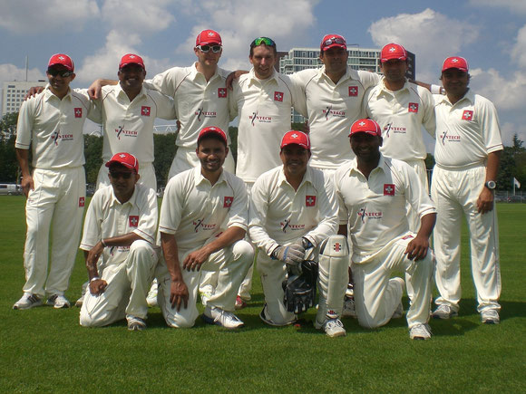 Switzerland National Cricket XI in Utrecht, Holland