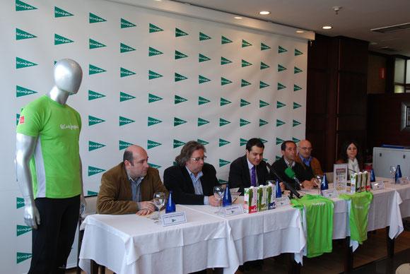 Don Juan Carlos Gonzalez, Don Nacho Arbeloa, Don Roberto Sanz, Don Juanjo Vizcay, Don Enrique Sanchez, Dña. Maite Azpiroz.