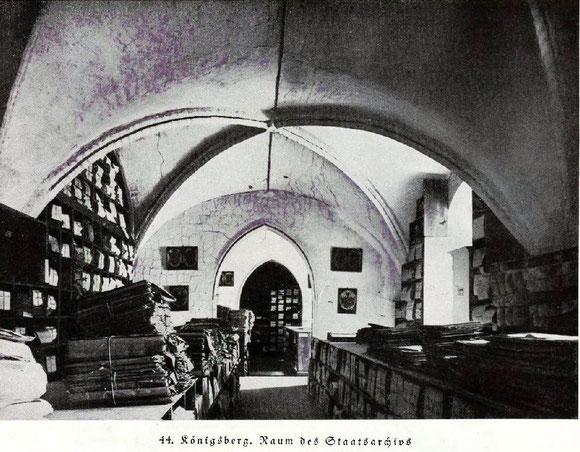 Bild des Staatsarchives aus: Das malerische Ostpreußen von der Seite dlibra - Durch anklicken des Bildes gelangt man direkt zum Buch