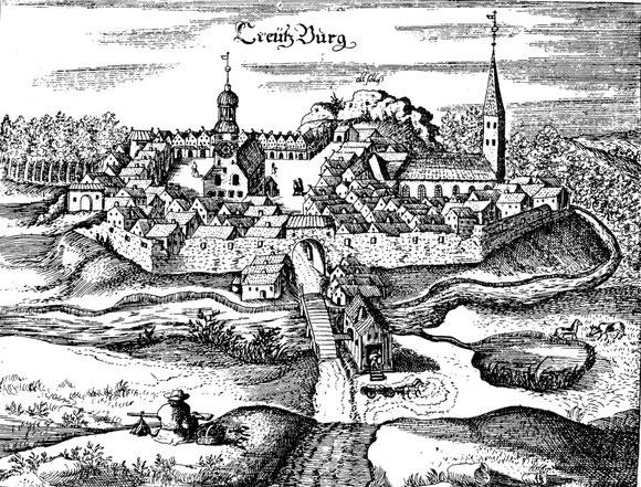 Stich von Creutzburg 1684
