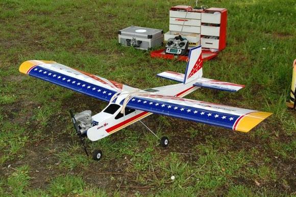 avion de début