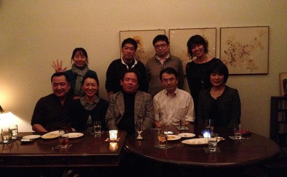 同期って特別な存在ですね。(^。^) 今日は同窓会でした 2013年11月30日