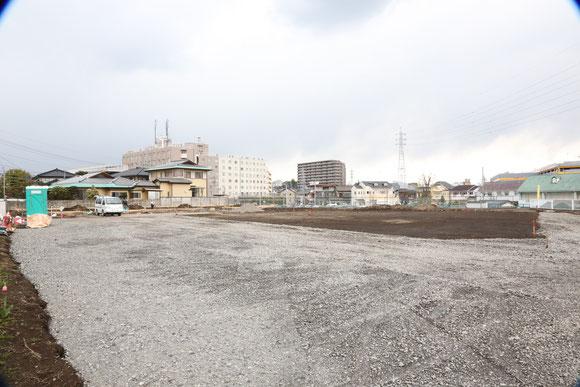 4月11日 基礎工事が始まりました