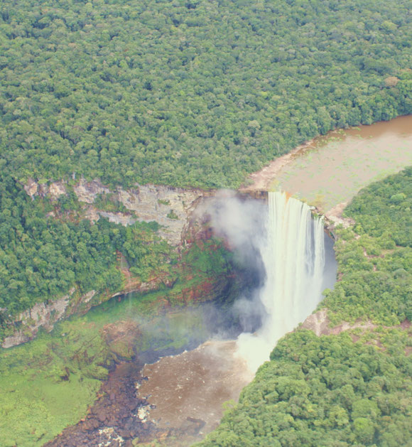 Kaieteur Falls in Potaro-Siparuni: Another trip to Guyana with World Wildlife Fund