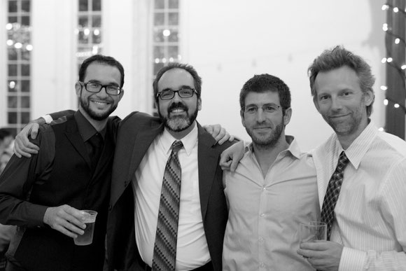 The fish dudes of Toronto at a wedding for the fifth amigo (Nathan Lujan)