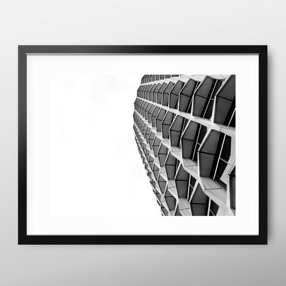 London architecture art print 'Center Point' by PASiNGA