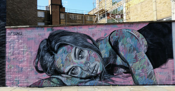 Graffiti in Shoreditch