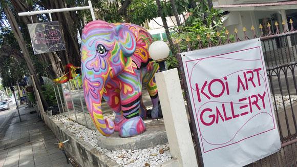 Koi Art Gallery Bangkok