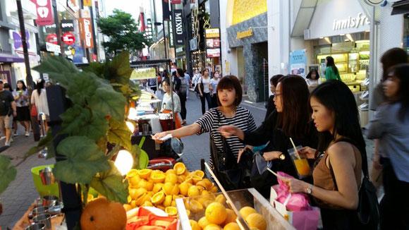 Shoppen in Myeong-dong