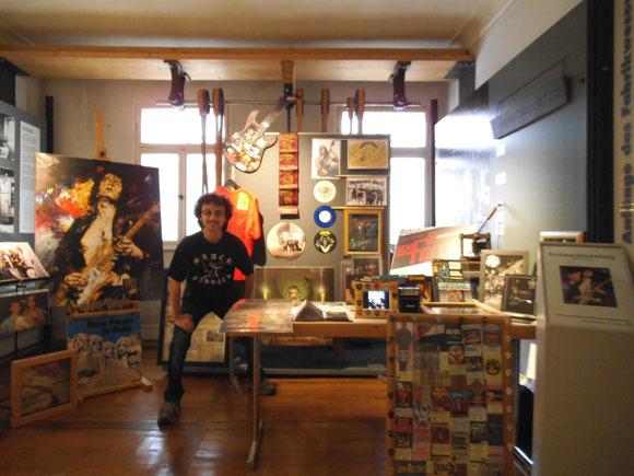 Oliver Mechow und seine fantastische Rocksammlung