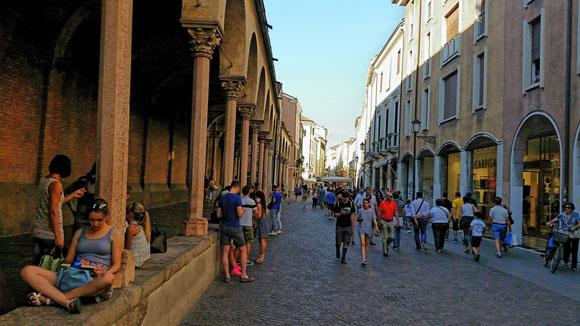 Via Roma in Padua