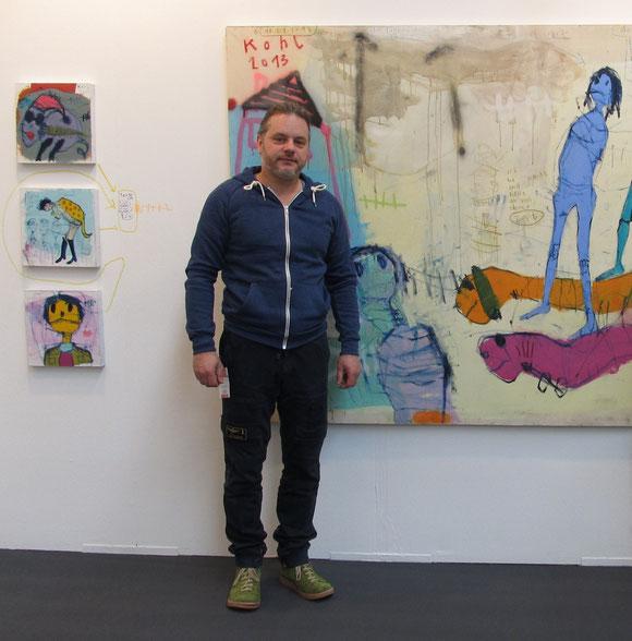 Der Künstler Peter Kohl