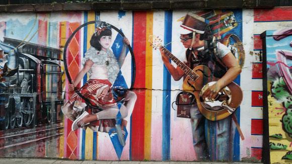 Graffiti in Camden