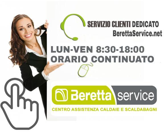 servizio clienti assistenza beretta roma