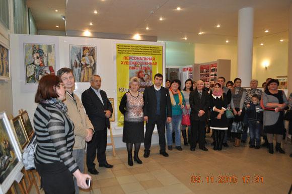 Презентация художественной выставки «Вдохновение» с участием художников Ванзина А.П. и Куклиной Ю.П.