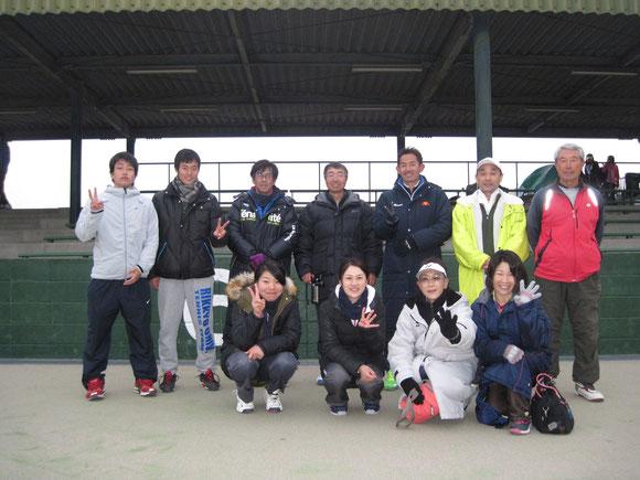1月23日、埼玉県都市対抗戦、1~2回戦のメンバー→準決勝に進出