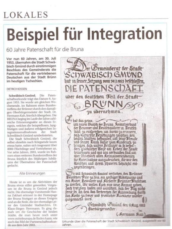 Original Gmünder Tagespost