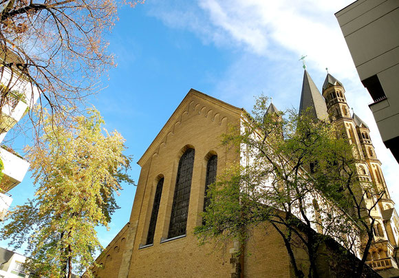 "Kirche ""Groß St. Martin"" - Altstadt Köln -"