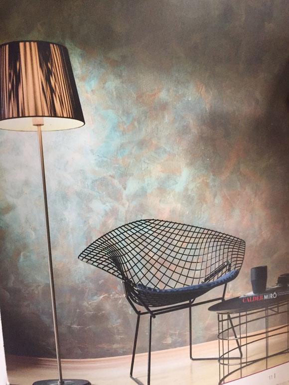 Dekorative Gestaltung Ombre Wand Maler Mfdesigns Maler Rechtes