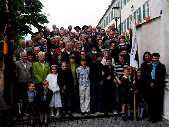 24. Mai 2009: Die Kolpingfamilie feiert ihr 150-jähriges Bestehen