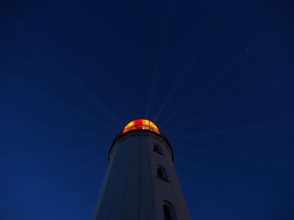 Lichtstrahlsender