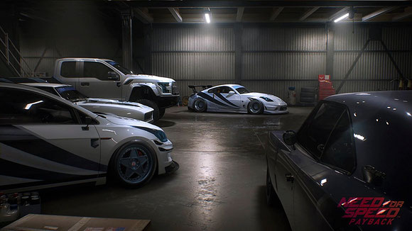 Need fpr Speed: Payback - Garage