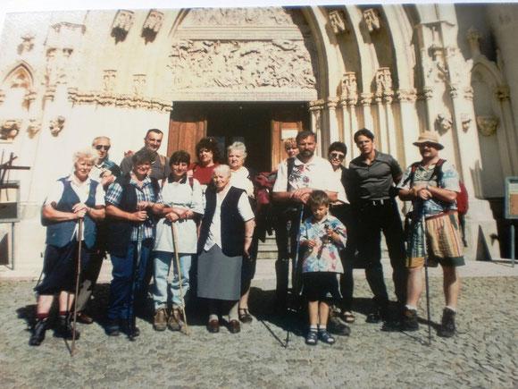 Wieder ein Gruppenbild vor der Heimreise